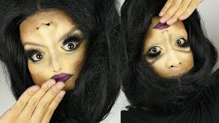 Upside Down Girl Halloween Makeup Tutorial