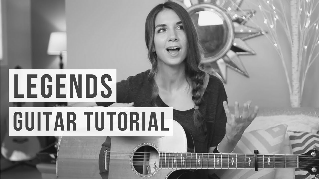 Legends – Kelsea Ballerini // Guitar Tutorial ft. Maddie Wilson