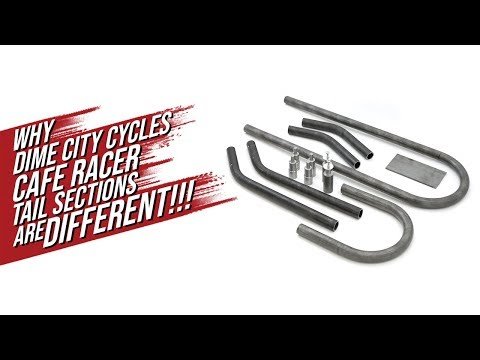 Cafe Racer TV Season 1, Dime City Cycles - What makes their Cafe Racer tail sections different!