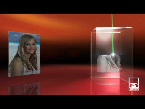 0 in Geschenke-Tipp: 3D Laser Foto im Mega Viamant™ Glas