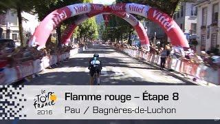 Bagneres-de-Luchon France  city pictures gallery : Flamme rouge - Étape 8 (Pau / Bagnères-de-Luchon) - Tour de France 2016
