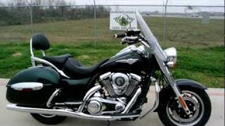 2. For Sale! 2012 Kawasaki Vulcan 1700 Nomad Pearl Boulogne Green and Metallic Spark Black