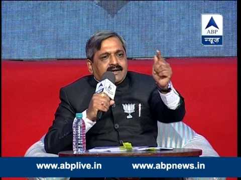 Satish Upadhyay in ABP News' Ghoshanapatra