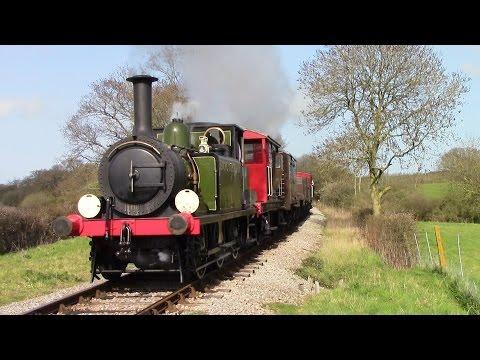 Isle of Wight Steam Railway 12th April 2015