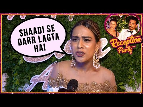 Video Nia Sharma Scared Of Marriage  - Exclusive Interview | Rubina Dilaik And Abhinav Shukla Reception download in MP3, 3GP, MP4, WEBM, AVI, FLV January 2017