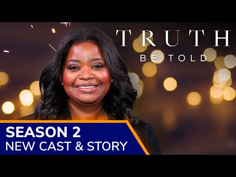 TRUTH BE TOLD Season 2 will have new cast + new story in 2021 on Apple TV+. Olivia Spencer to return