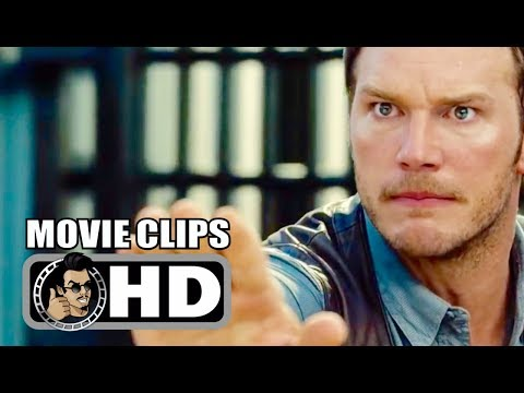 Download JURASSIC WORLD - 9 Movie Clips + Trailer (2015) Chris Pratt, Bryce Dallas Howard Action Movie HD
