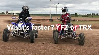 7. Yamaha YFZ 450r vs. Honda TRX 450r