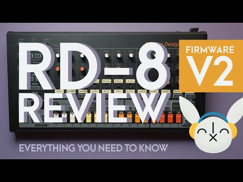 Behringer RD-8 Review   V2 firmware + everything you need to know