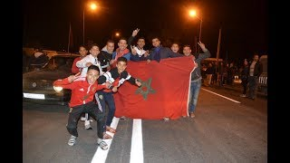 عن فرحة فوز المنتخب المغربي بهدفين مقابل لاشيء
