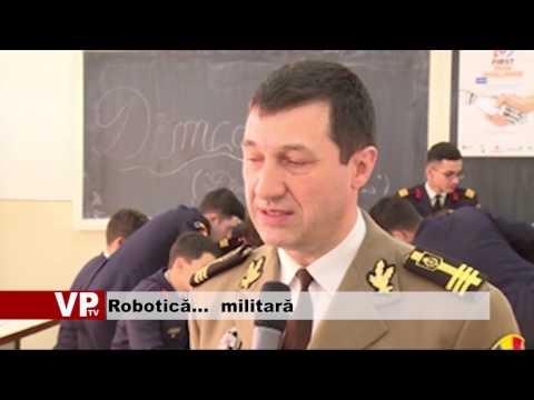Robotică…  militară