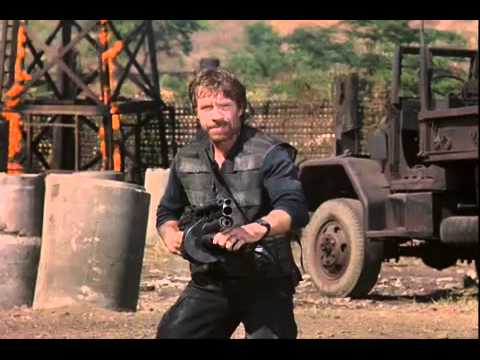 Explosive Bloody Violent Chuck Norris Shootout