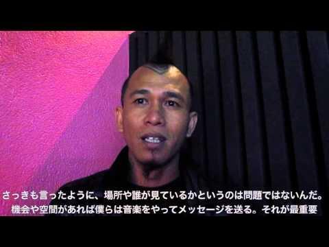 大衆と共にある音楽パンク ジャカルタから来日したマージナルと日本のパンクシーン