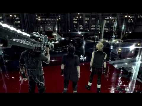 Final Fantasy XV Battle Gameplay First Look – E3 2013