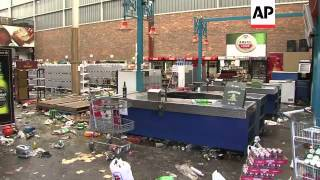 Sasolburg South Africa  City pictures : Angry residents loot shops as service delivery protest continues