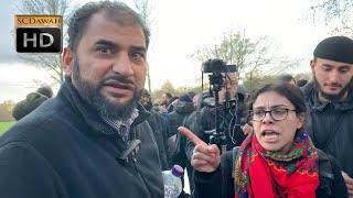 P1 - New Zealand Mosque Attack!? Adnan Vs Hatun Christian | Speakers Corner | Hyde Park