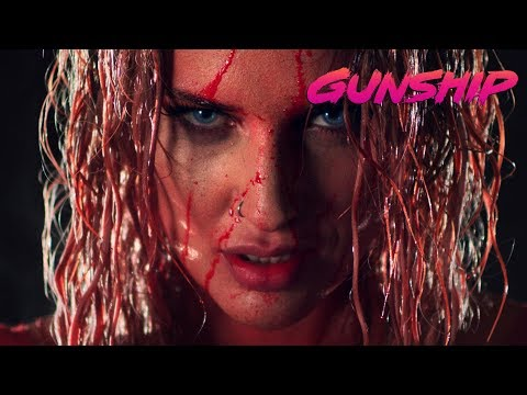 GUNSHIP - Dark All Day (feat. Tim Cappello And Indiana) [Official Music Video]