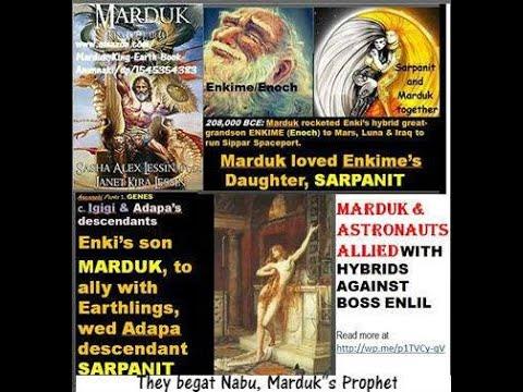 Marduk heeft bepaald dat koningen van Egypte- nakomelingen van de Anunnaki...