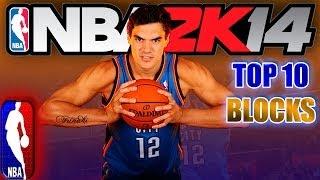 NBA 2K14 TOP 10 BLOCKS of The WEEK #3 Starring Steven Adams