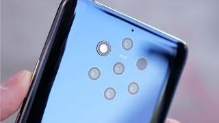 Nokia 9 PureView и её 5 камер, смотрим результат