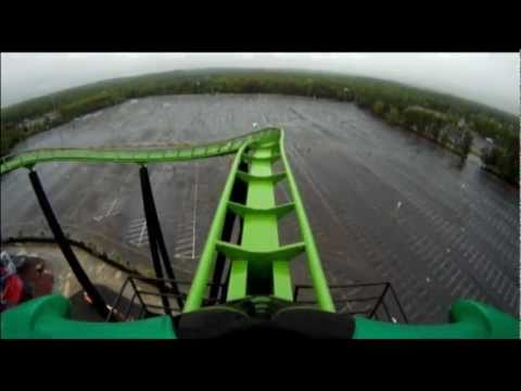 roller coaster - Follow us on Twitter http://www.twitter.com/themeparkreview and Facebook http://www.facebook.com/themeparkreview - Footage by Six Flags Great Adventure - Gre...