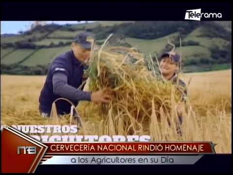 Cervecería Nacional rindió homenaje a los agricultores en su día
