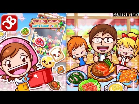 Cooking Mama Let's Cook Puzzle (By Office Create Corp) - IOS/Android - Gameplay Video