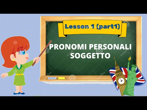 Inglese di base: pronomi personali e il verbo to be