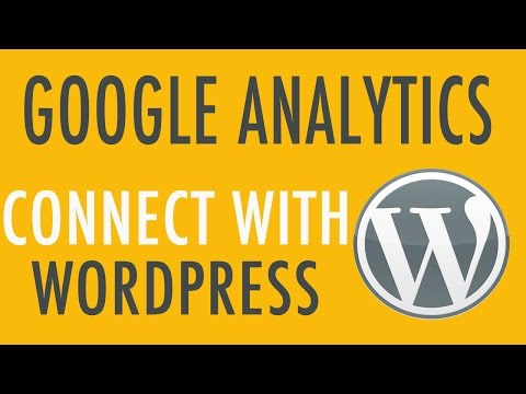 Connect Google Analytics with your WordPress Website
