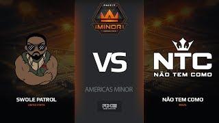 Swole Patrol vs Nao Tem Como, map 1 train, Americas Minor – FACEIT Major 2018
