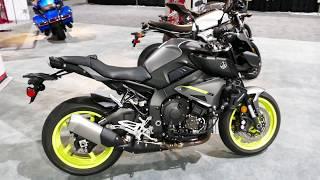 10. New 2018 Yamaha MT-10 Hyper Naked Superbike Motorcycle - Exterior Tour - 2017 LA Auto Show