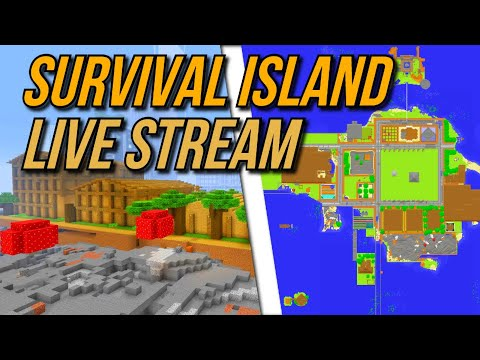 Minecraft (PS4) Survival Mode w/Friends Episode 45 - The Warehouse Is Full! - (Survival Island City)