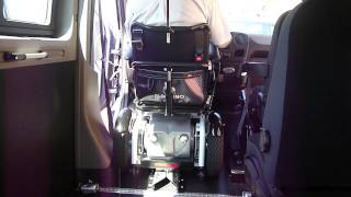 Kotvící zaříz. vozíku - elektrické 001+ nast. sed. vozíku ve voze OPEL Movano