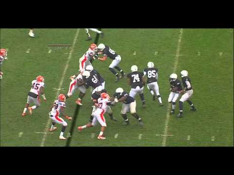 Jonathan Brown vs Penn State 2011 video.