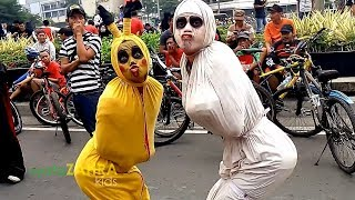 Video HANTU HANTU GENIT Di Acara Car Free Day MP3, 3GP, MP4, WEBM, AVI, FLV Juni 2018