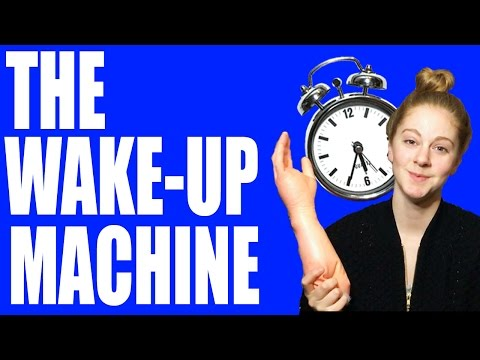 Girl Builds Hilarious Smacking Alarm Clock