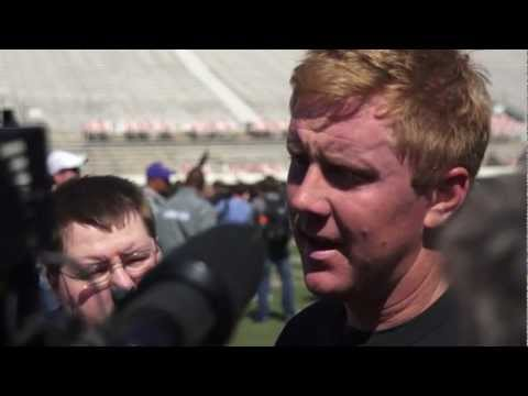 Brandon Weeden Interview 3/10/2012 video.