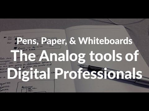 Episode 048: Pens, Paper, and Whiteboards Podcast