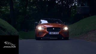 Jaguar XE SV Project 8 - Shelsley Walsh Hill Climb