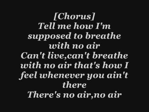 Jordin Sparks ft Chris Brown - No Air Lyrics видео