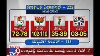 Karnataka Exit Polls LIVE: Exit Polls Divided b\w Congress and BJP