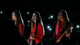 HAIM - Night So Long @ The Greek Theatre, Los Angeles - 10/19/17