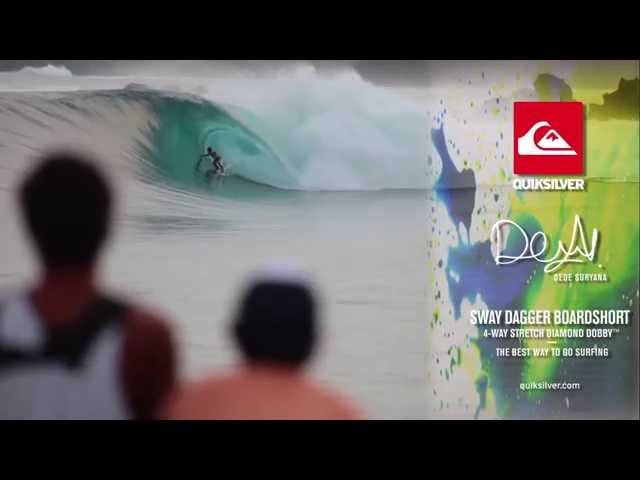 Quiksilver Board Short Advertising