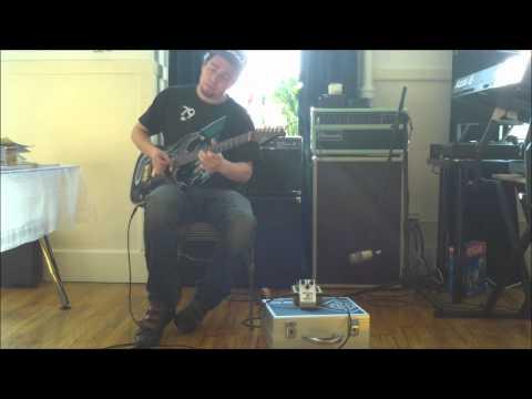 Rene Del Fierro - Freekish Blues Alpha Drive II Red Dot - Dumble Tones Video 4
