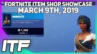 Fortnite Item Shop *NEW* BANDOLETTE SKIN! [March 9th, 2019] (Fortnite Battle Royale)