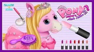 Video Fun Animal Horse Care - Pony Horse Care Hair Salon Dress Up - Pony Sisters Hair Salon 2 MP3, 3GP, MP4, WEBM, AVI, FLV Maret 2019