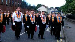 Ballymena United Kingdom  City new picture : Cambuslang Britannia Flute Band in Ballymena 12th July 2009