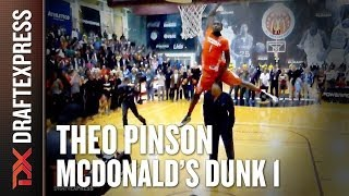 Theo Pinson - 2014 McDonalds All American Dunk Contest - Dunk 1
