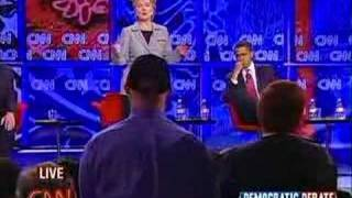 11/15/07 Democratic Debate- Iran