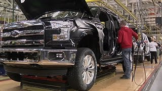 Ford to Start Making Aluminum F-150 Pickup